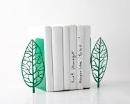 фото 10075  Держатель для книг дерево Магритта зеленое цена, отзывы