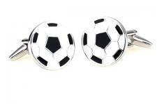 фото 6854  Запонки Футбольный мяч цена, отзывы