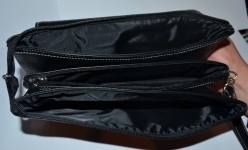 фото 1519  Барсетка кожаная мужская Black 111 цена, отзывы