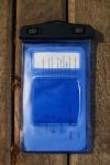 фото 3576  Водонепроницаемый чехол для телефона Синий цена, отзывы