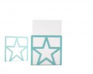 фото 9855  Держатель для книг Звезда голубая цена, отзывы