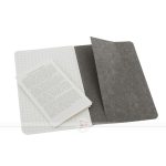 фото 6058  3 блокнота Moleskine Cahier маленьких серых цена, отзывы