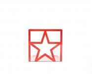фото 9853  Держатель для книг Звезда красная цена, отзывы