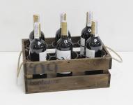 фото 7076  Подставка для вина ящик на 6 бутылок цена, отзывы