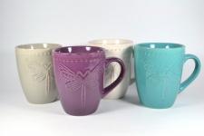 фото 9118  Чашка керамическая Стрекоза цена, отзывы
