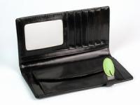 фото 8783  Женский кошелек с жабкой черный цена, отзывы