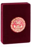 фото 3793  Медаль deluxe 50 лет цена, отзывы