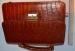 Оригинальная мужская барсетка из натуральной кожи 1