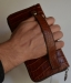 Кожаный клатч мужской ручной m013