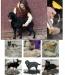 Фото2 Фурминатор для кошек и собак 4,5 см с кнопкой для сбрасывания шерсти