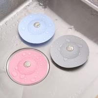 Заглушка фильтр силиконовый для раковины, ванны