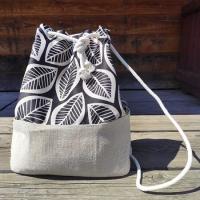 Рюкзак женский тканевый Лист