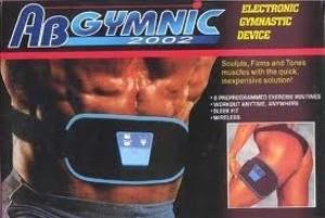 Пояс миостимулятор ABGymnic для накачивания мышц