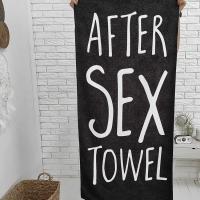 Полотенце After sex 150х70 см