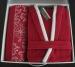 Халат Altinbasak Pasific женский красный (+полотенце)