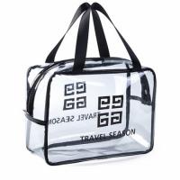 Прозрачная сумка-косметичка