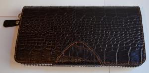 Кожаный клатч мужской ручной m012