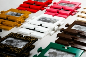 Фоторамки-пазлы (цвета в ассортименте)