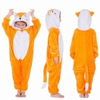 Детская пижама кигуруми Лисичка 130 см