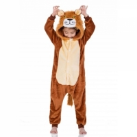 Детская пижама кигуруми Лев 130 см