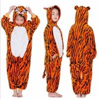 Детская пижама кигуруми Тигр 140 см