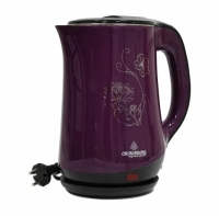 Электрический чайник 2200 мл Crownberg CB 2842 (Фиолетовый)