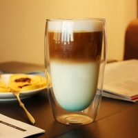 Стакан для латте, кофе с двойным дном 470 мл