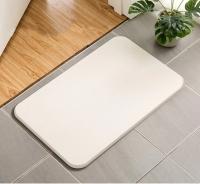 Коврик в ванную комнату диатомитовый (белый)