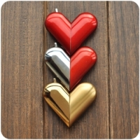 Зажигалка сердце трансформер