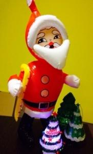 Дед мороз надувной 45 см