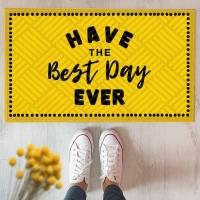 Дверний килимок Best day