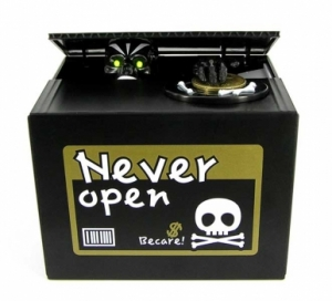 Копилка Скелет в коробке