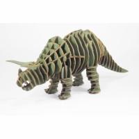 3D пазл Трицератопс