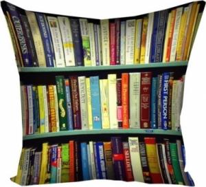 Подушка Библиотека 40х40