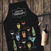 Фартук Групповая терапия коктейлями