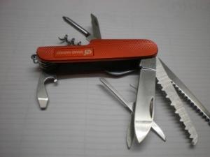 Нож Multi-Function оранж