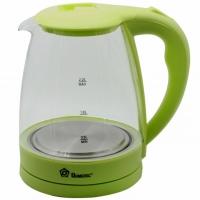 Электрический стеклянный чайник 1,8 л (Салатовый)