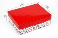 Фото Подарочная коробка You and me 26х20х9 см