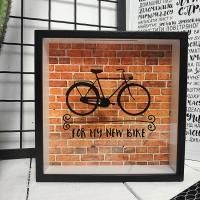 Деревянная копилка для денег For my new bike