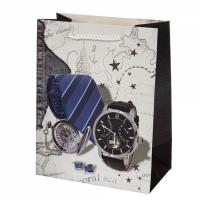 Подарочный пакет Для настоящего Мужчины Berlin 32х26х12 см