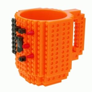 Фото Кружка Lego брендовая 350мл Orange