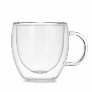 Чашка для кофе с двойным дном 150 мл