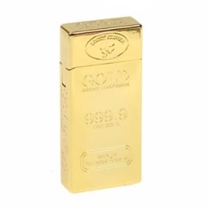 Зажигалка прямоугольный слиток золота