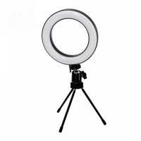 Подсветка кольцо для селфи на мини-треноге для блогера