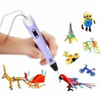 3D ручка для рисования (фиолетовый)
