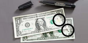 Маркер-детектор для проверки денег