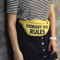 Сумка на пояс Forget the rules