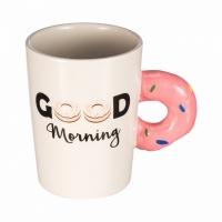 Керамическая чашка Пончик