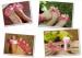 Средство массажное для пальцев ног на батарейках Счастливые пальчики