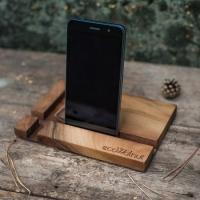 Фото3 Подставка для телефона из дерева Прямоугольник